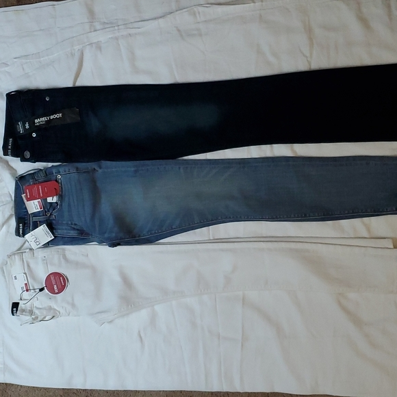 3 pair of Express jeans size 00